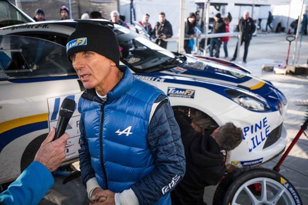 Alpine A110 Rally Team FJ François Delecour Touquet 2020