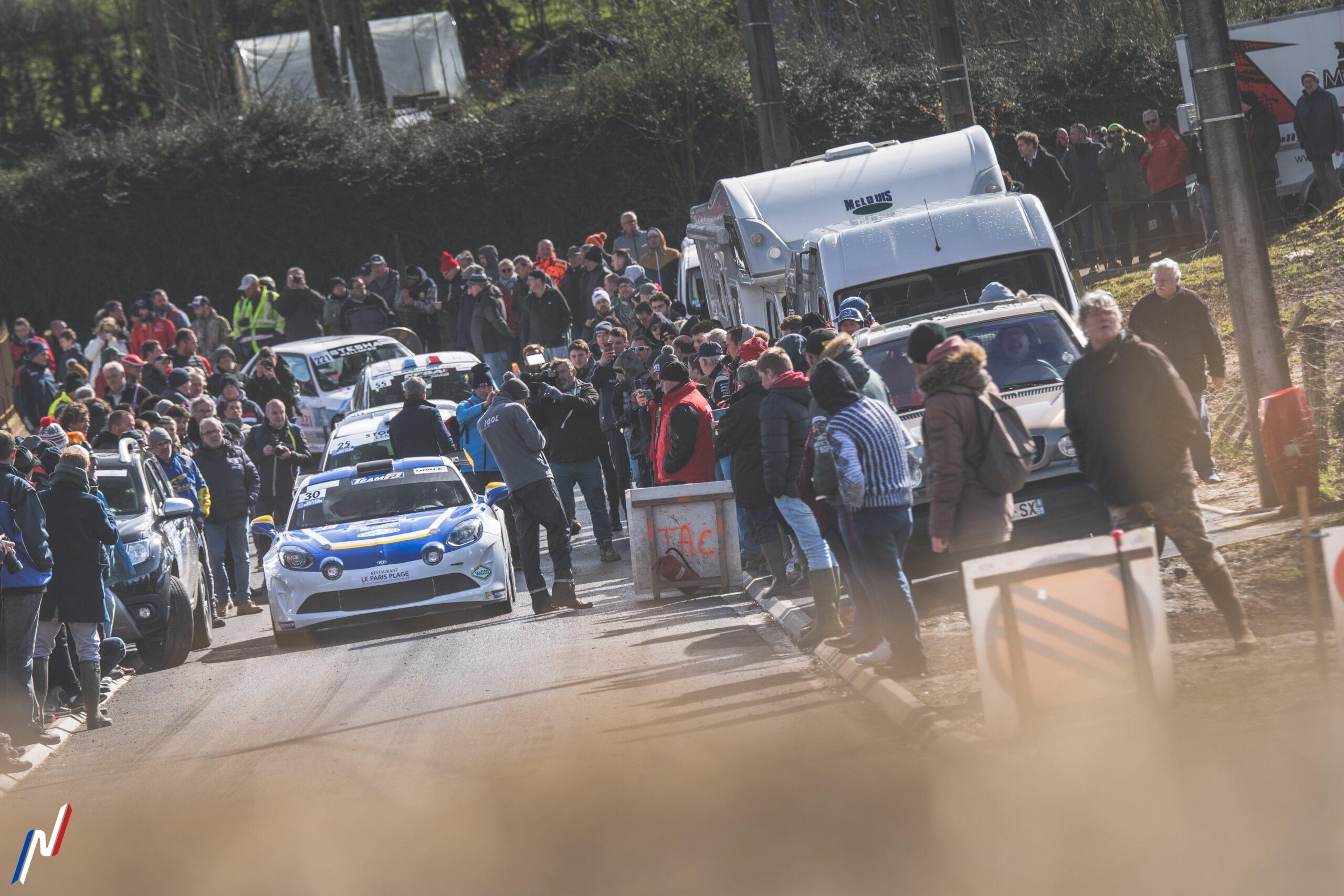 Rallye Touquet 2020 RGT A110 rally teamFJ signatech