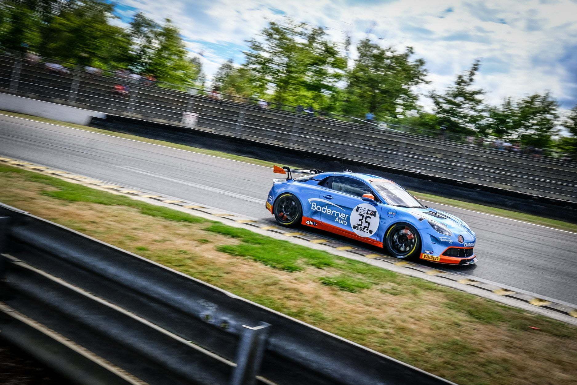 ALpine A110 GT4 Jean CHarles Rédélé Nogaro 2020