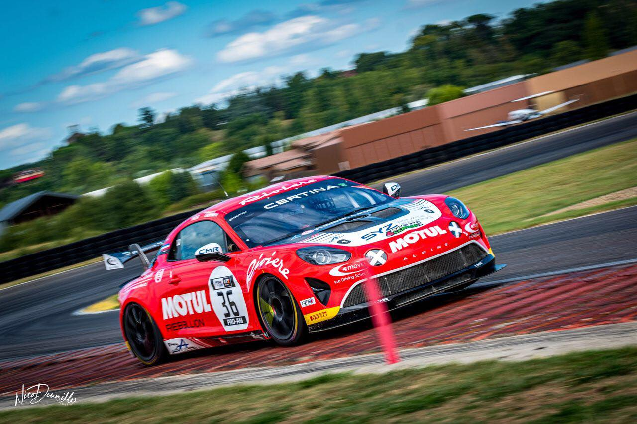 Alpine A110 GT4 Bodemer AUto Nicolas Prost Nogaro 2020 3