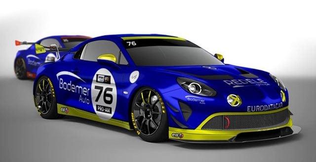 Alpine A110 GT4 Jean Charles Redele Laurent Coubard Bodemer 2020 1   FFSA GT 2020 : les Alpine A110 GT4 filent au Paul Ricard