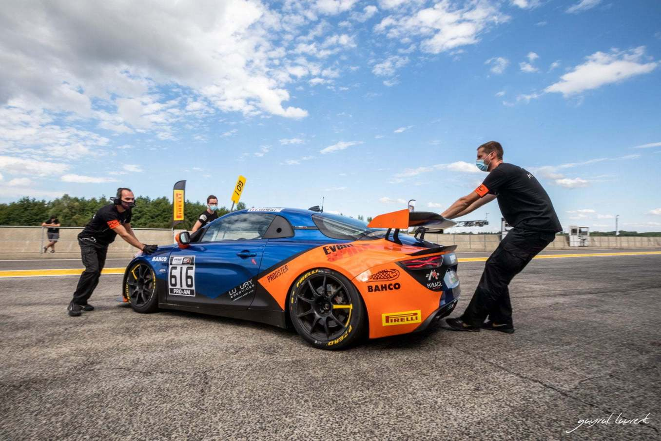Alpine A110 GT4 Mirage Racing Nogaro 2020 6   FFSA GT 2020: sept Alpine A110 GT4 engagées à Nogaro !