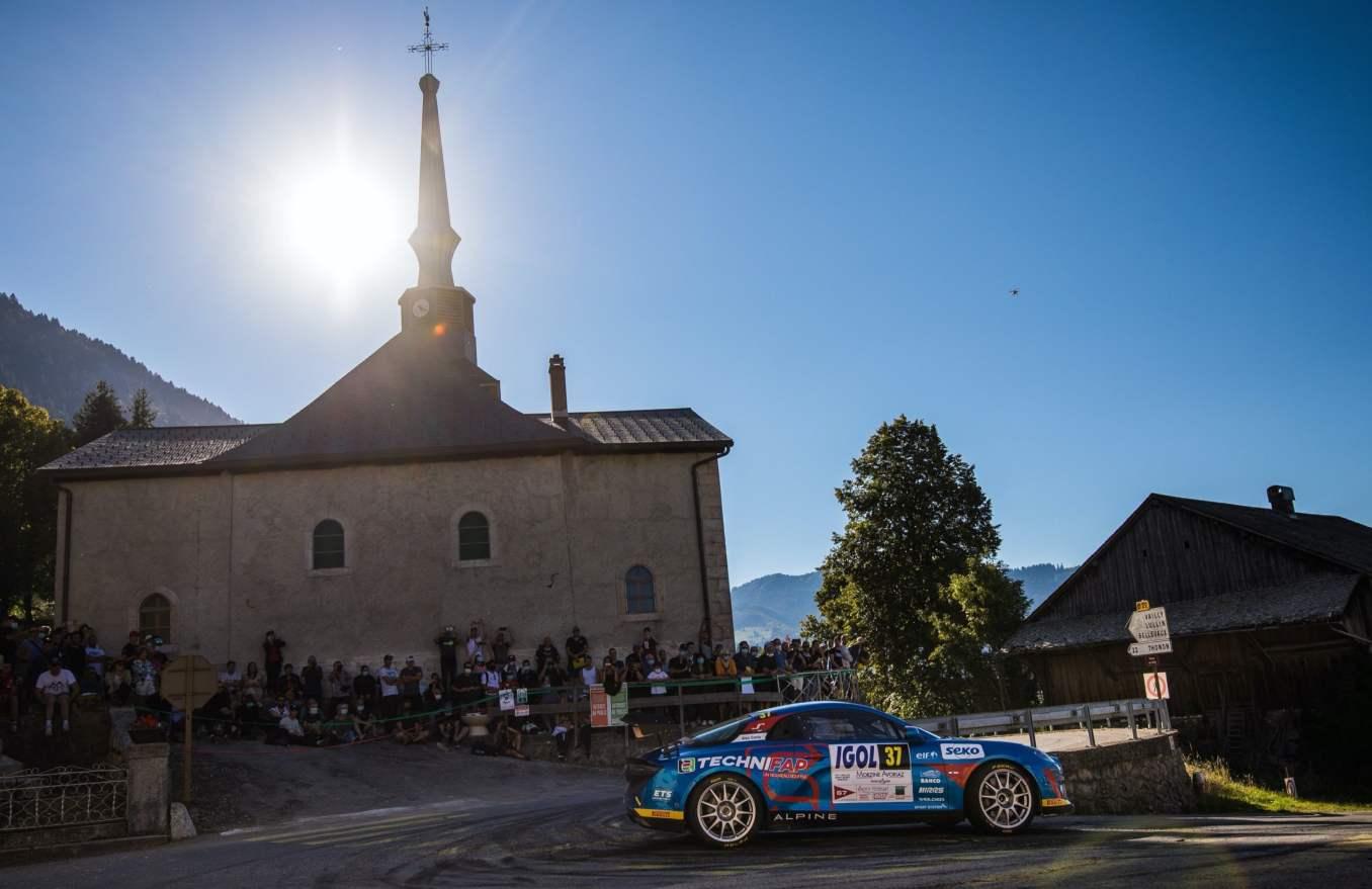 Alpine A110 Rally CHampionnat de France Manu Guigou 1 | Alpine A110 Rally : Manu Guigou favori au Rallye Cœur de France 2020