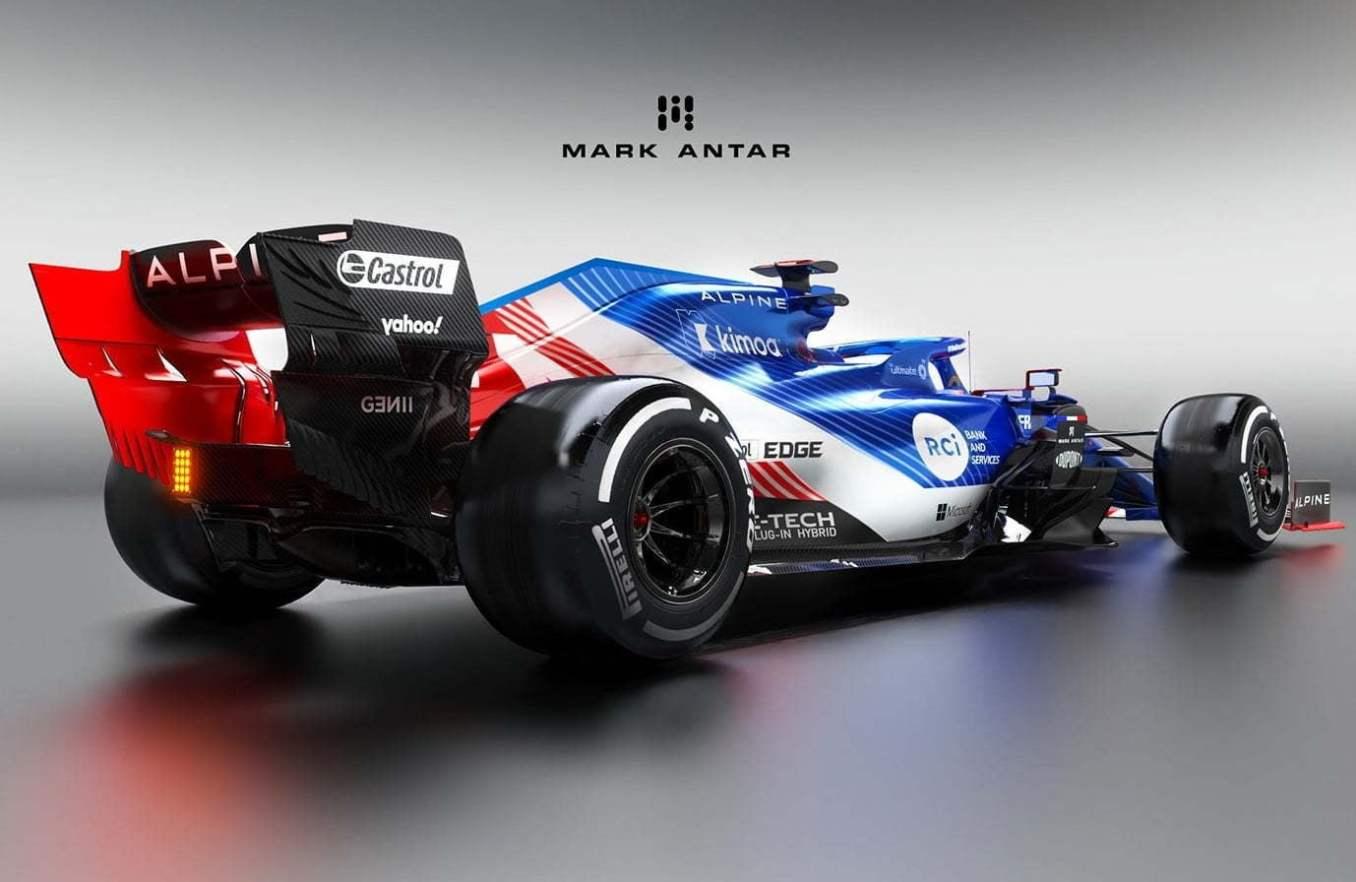 Alpine F1 Team 2020 / Mark Antar