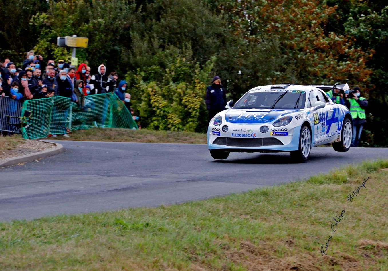 Cedric Robert Matthieu Duval Alpine A110 Rally Rallye Coeur de France 1 | Monte-Carlo 2021 : Le Team BONNETON-HDG à l'assaut du Rallye avec l'Alpine A110 RGT