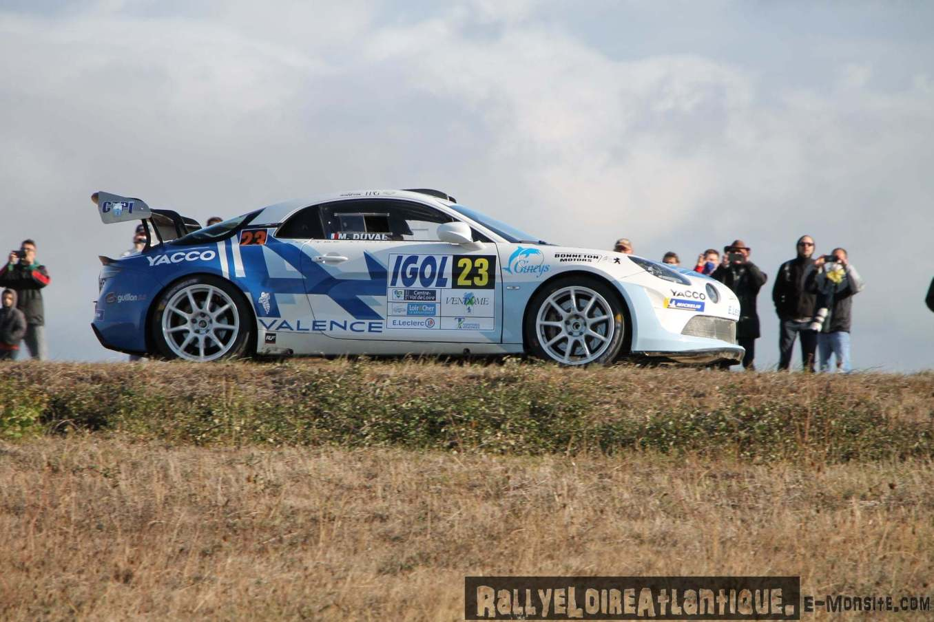 Cedric Robert Matthieu Duval Alpine A110 Rally Rallye Coeur de France 3   Alpine A110 Rally : Cédric Robert hausse le rythme lors du Rallye Cœur de France 2020