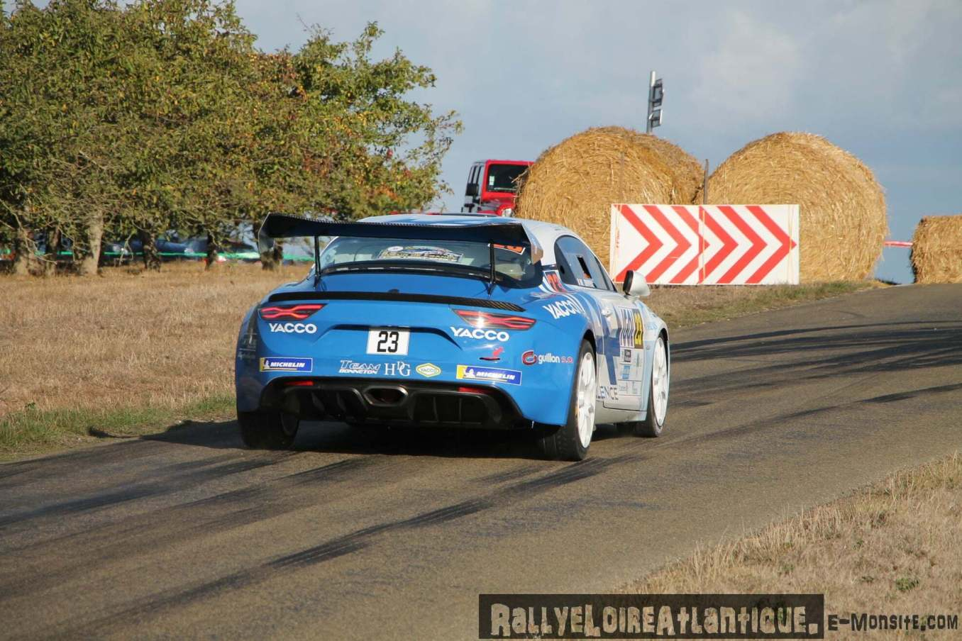Cedric Robert Matthieu Duval Alpine A110 Rally Rallye Coeur de France 4   Alpine A110 Rally : Cédric Robert hausse le rythme lors du Rallye Cœur de France 2020