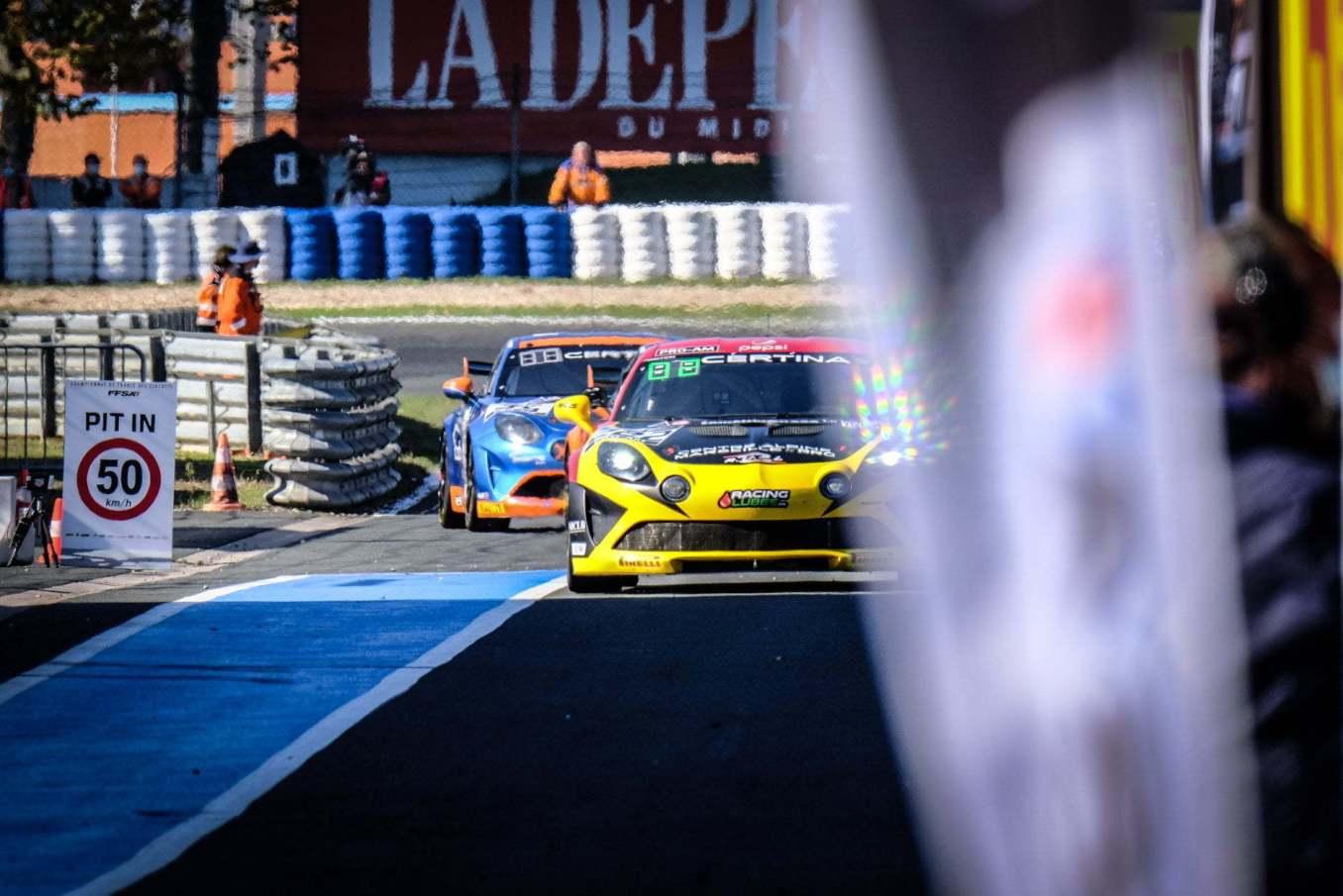 Alpine A110 GT4 FFSA GT 2020 Albi 22   Alpine A110 GT4 : le plein de points à Albi pour la 1ère course !