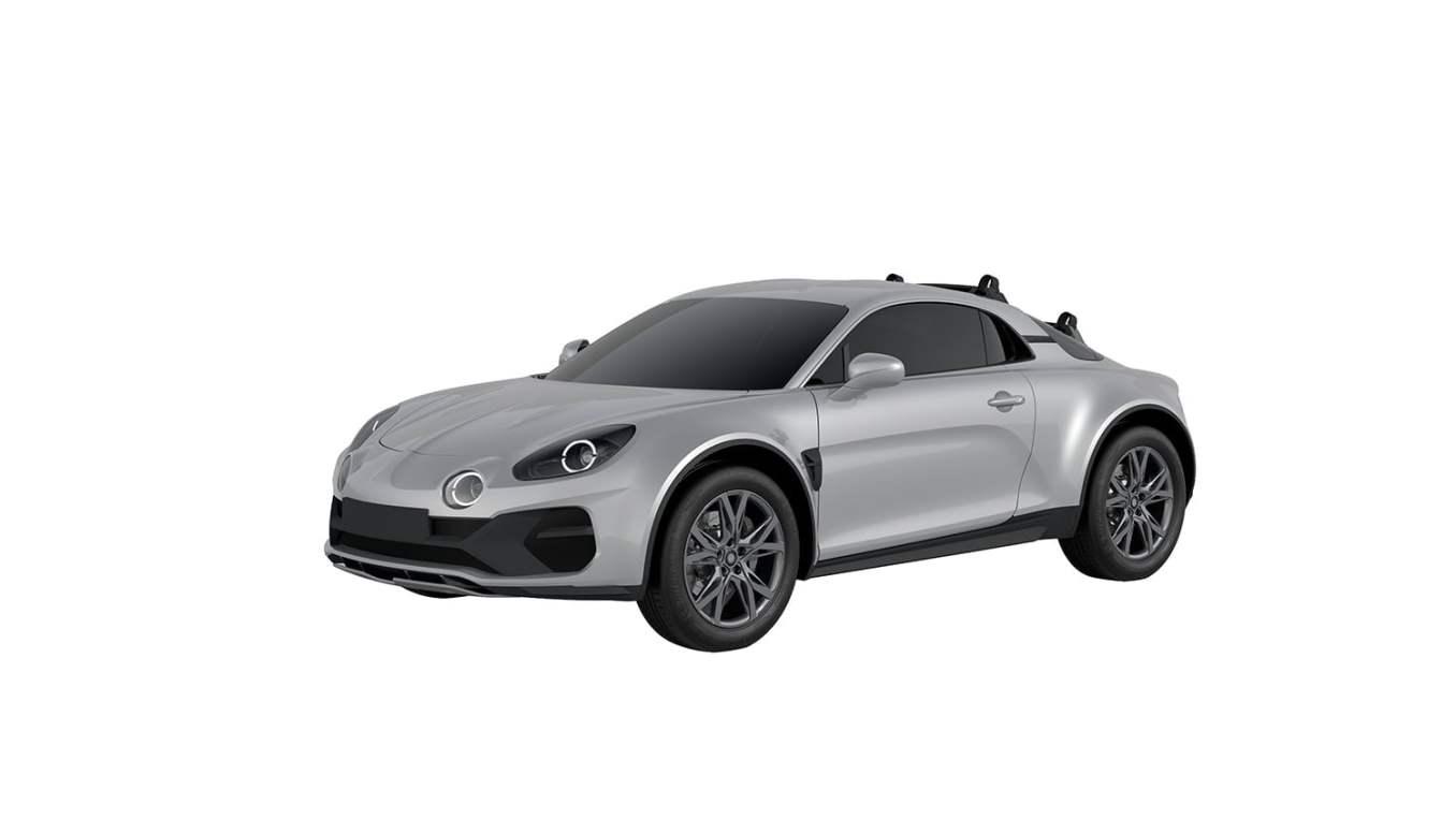 Alpine A110 Sports X WIPO Brevet design 2020 6   Alpine A110 Sports X : la marque dépose les brevets du design en 2020