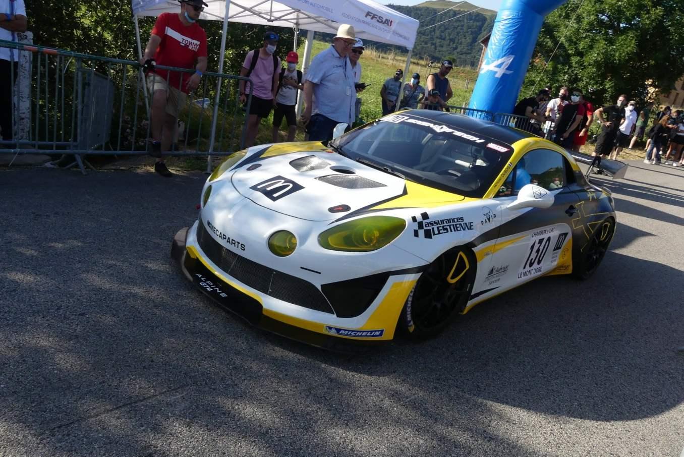 Anthony Dubois Alpine A110 GT4 Course cote 2020 3 | Anthony Dubois, pilote d'une Alpine A110 engagée en course de côte