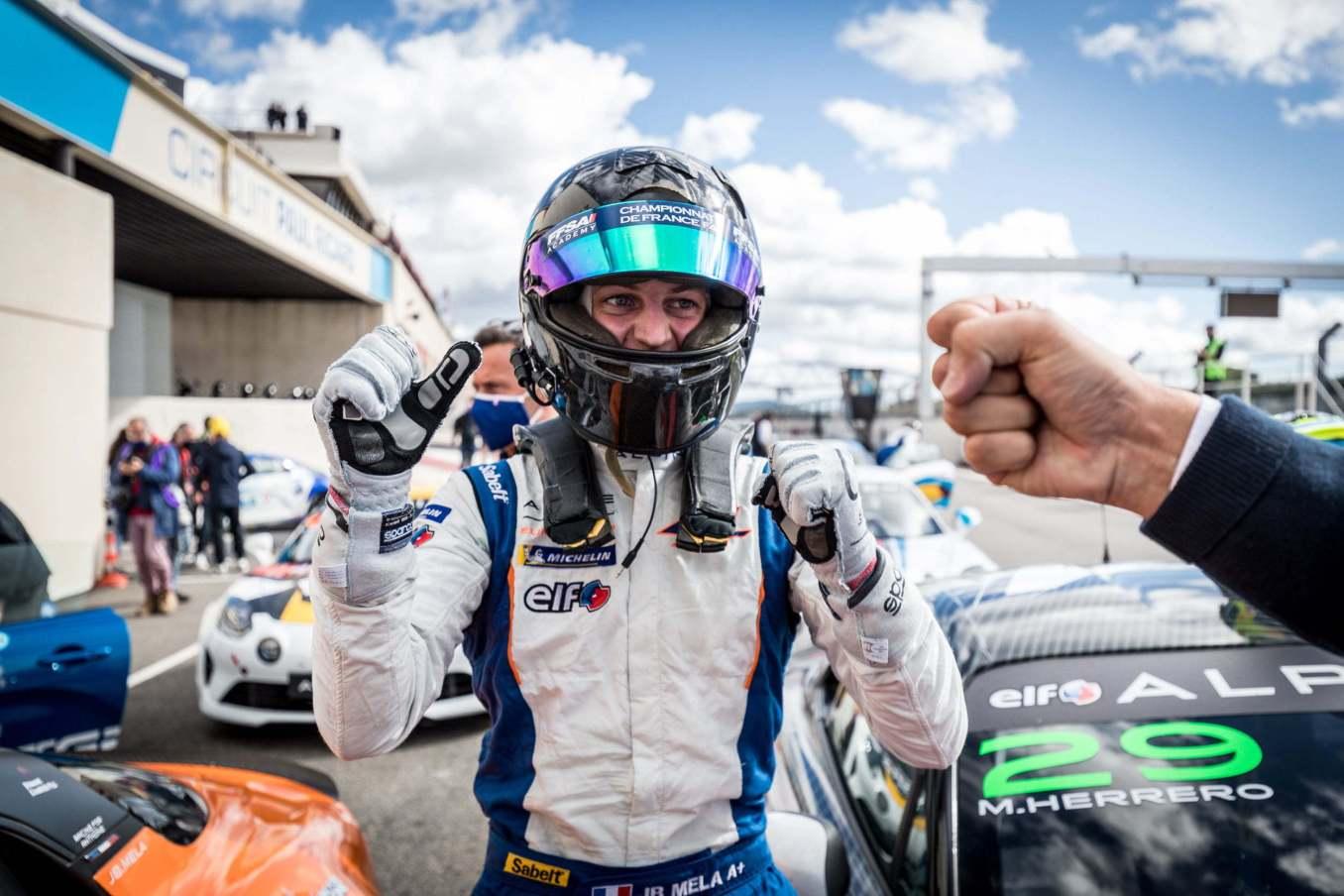 Autosport GP Jean Baptiste Mela Paul Ricard 2020 | Alpine Elf Europa Cup 2020 : L'équipe Autosport GP assurée du titre !