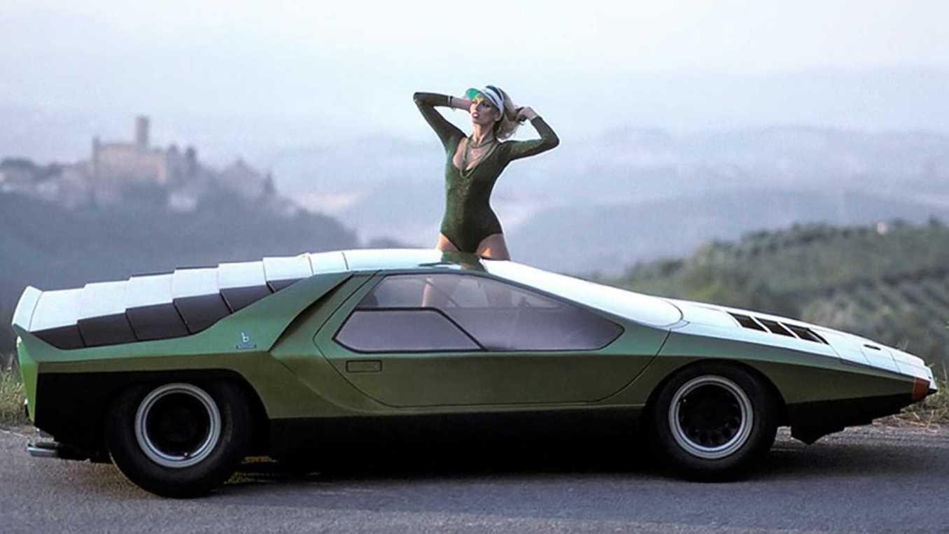 1968 alfa romeo carabo concept | Alpine A110 Meyrignac : l'audacieux prototype !