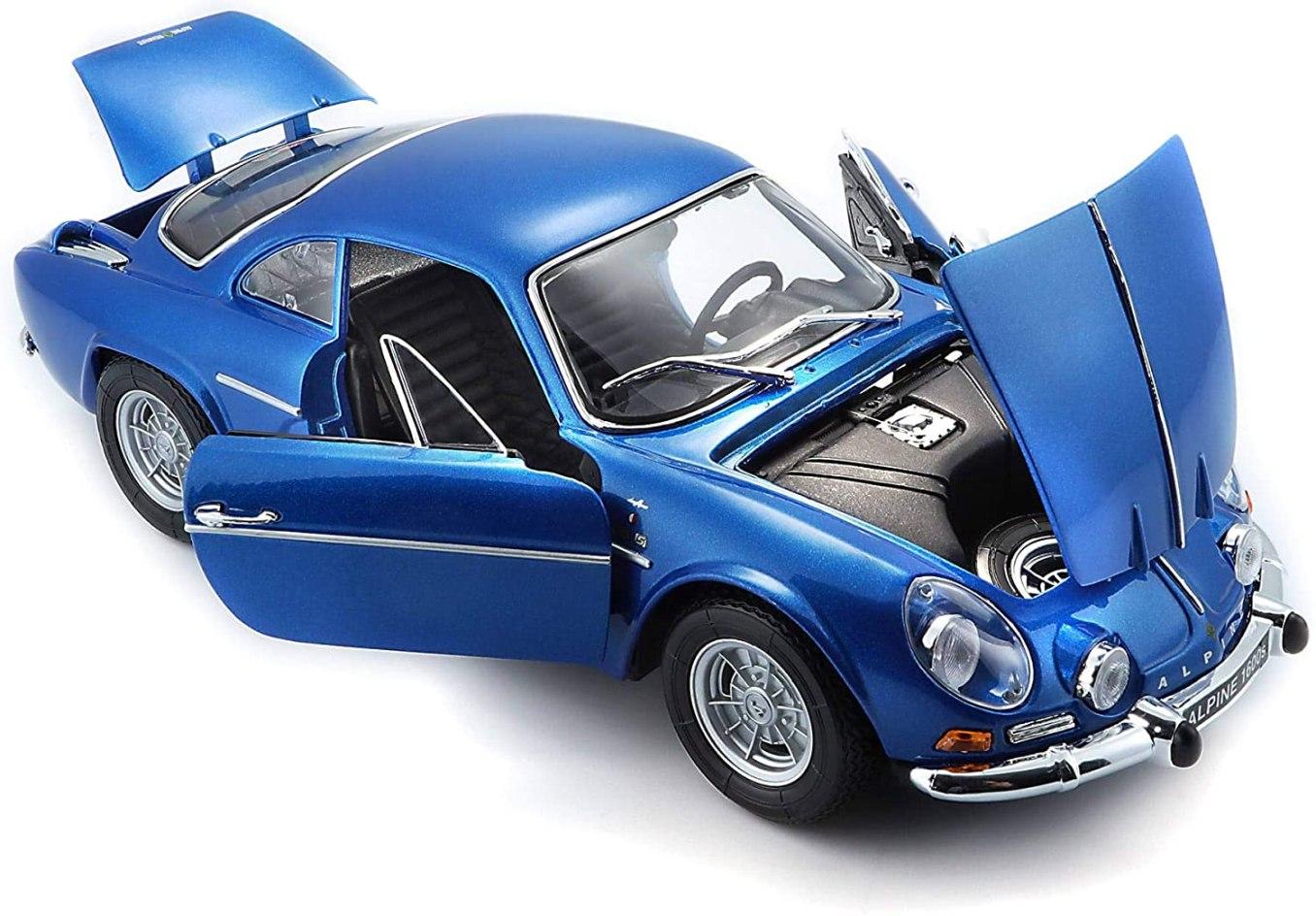 Bburago Maisto France Voiture Miniature Alpine Renault 1600 S Stradale 1971 1   30 idées de cadeaux de Noël pour les passionnés d'Alpine