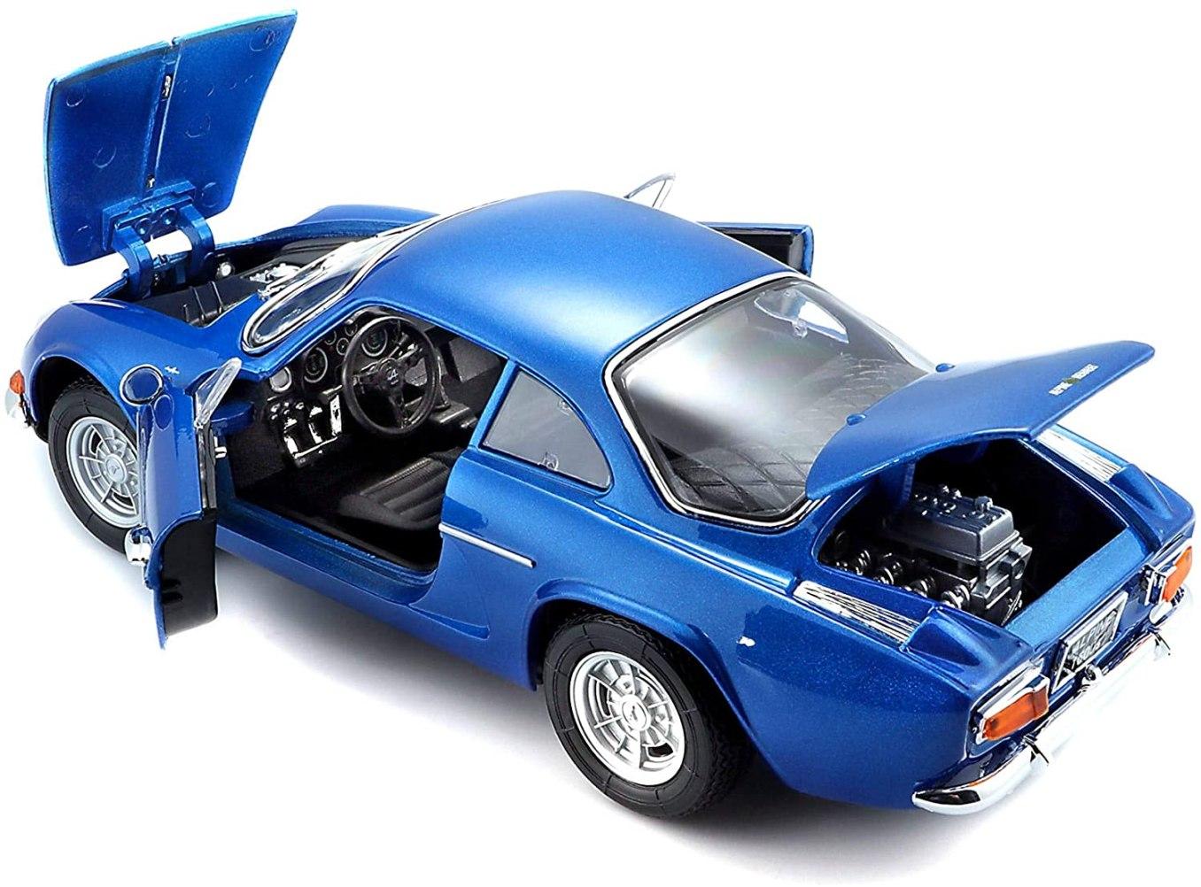 Bburago Maisto France Voiture Miniature Alpine Renault 1600 S Stradale 1971 2   30 idées de cadeaux de Noël pour les passionnés d'Alpine