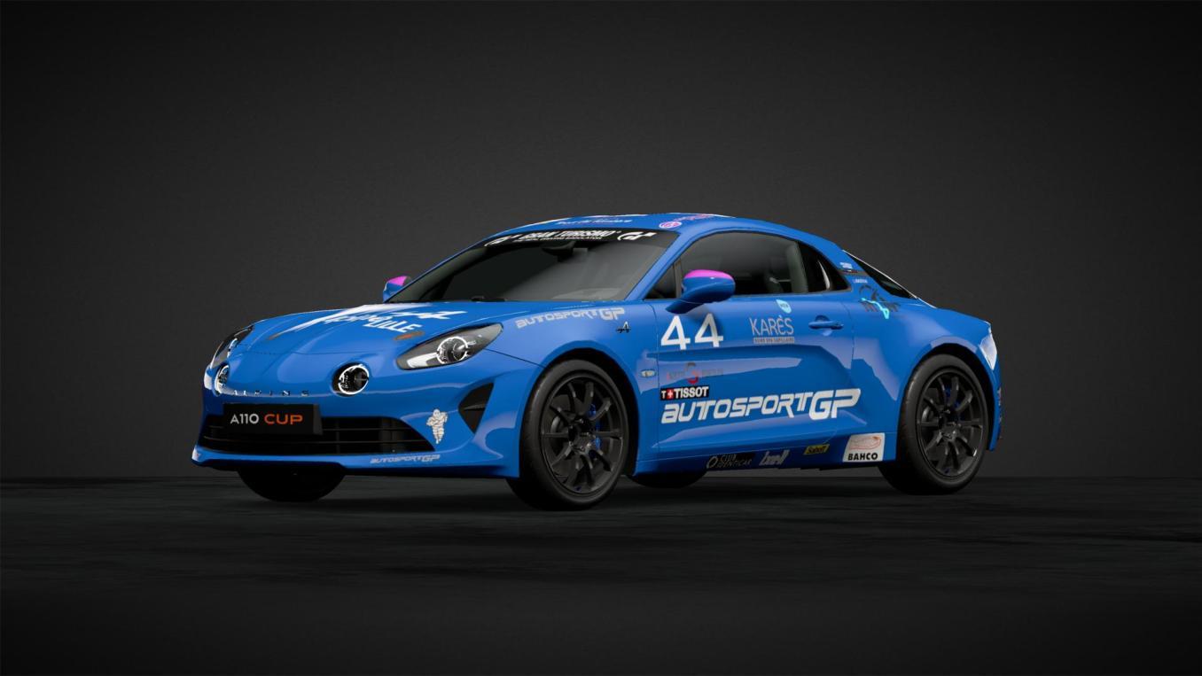 Lilou WADOUX n°44 Alpine Elf Europa Cup 2020 GT Sport   Gran Turismo Sport : Rémi Adam, la référence des livrées Alpine A110 Cup