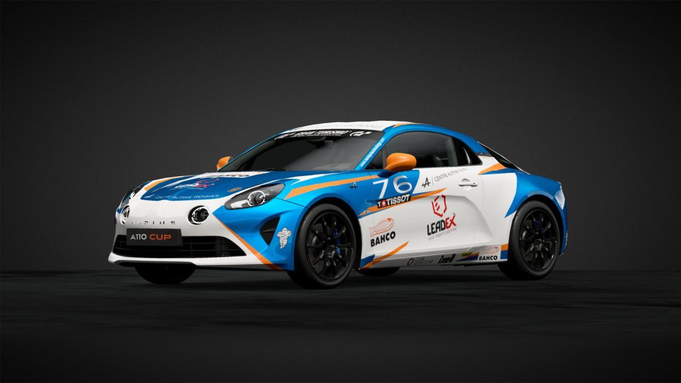 Pierre SANCINENA n Alpine Elf Europa Cup 2020 GT Sport   Gran Turismo Sport : Rémi Adam, la référence des livrées Alpine A110 Cup