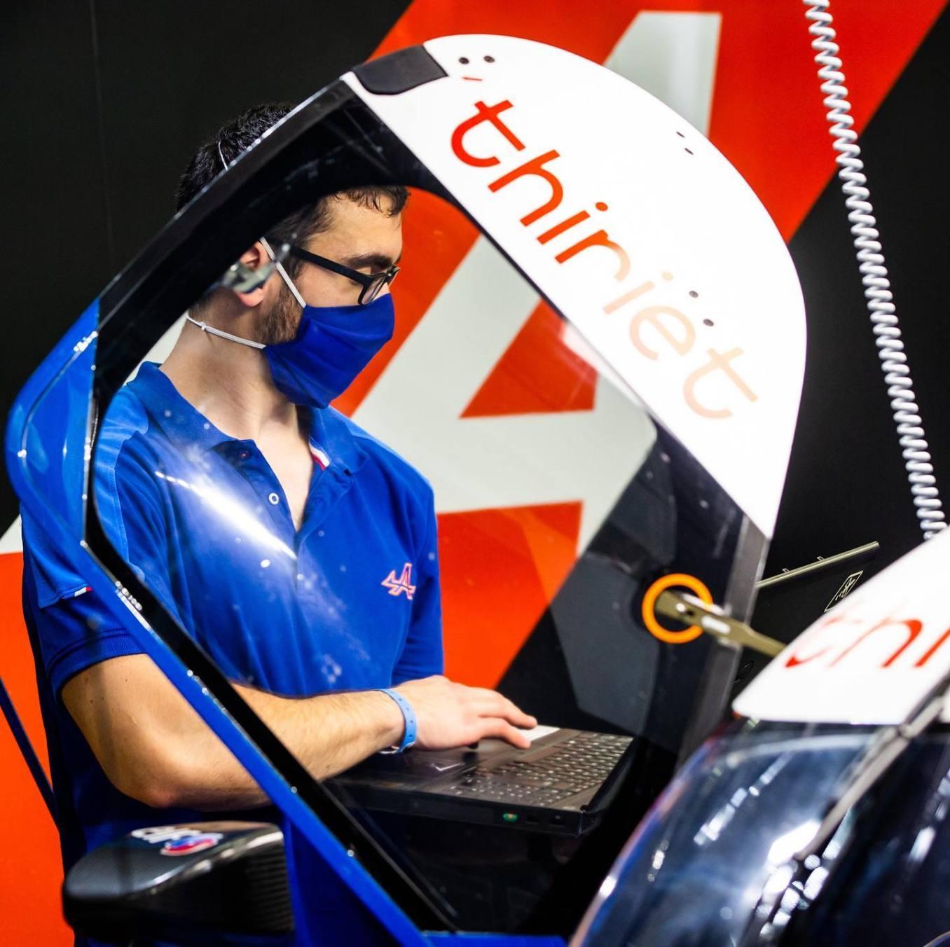 Signatech Alpine A470 Laurent Ragues Negrao Bahrein WEC 2020 LMP2 9 | Signatech Alpine atteint la 5ème place à Bahreïn