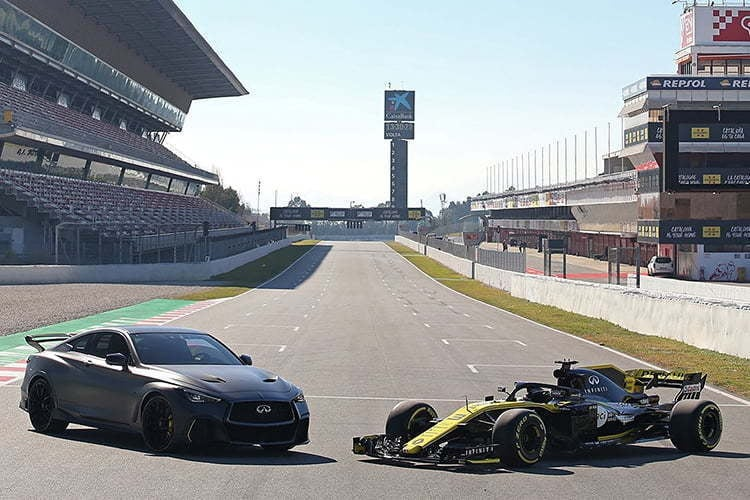 Infiniti Renault F1 2   Alpine F1 Team : le partenaire Infiniti quitte la F1