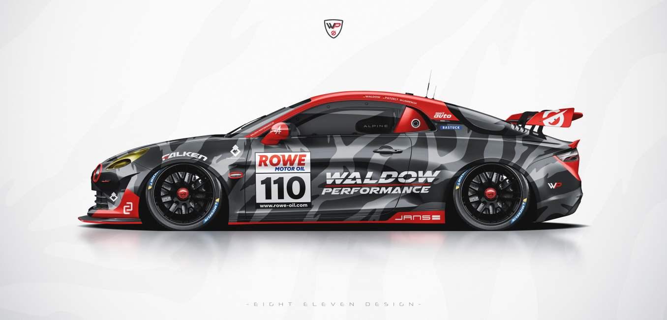 Alpine A110 GT4 Waldow Performance
