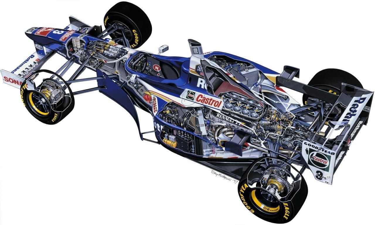 WIlliams renault FW19 Engine Renault RS9 V10   Alpine Racing renouvelle son partenariat avec Mecachrome