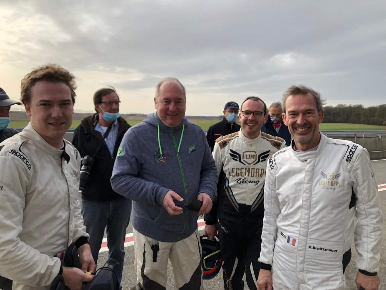 Alpine A110 Rally RGT Team FJ 2021 5 | Alpine A110 R-GT : Le Team FJ la fait découvrir à des pilotes Belges