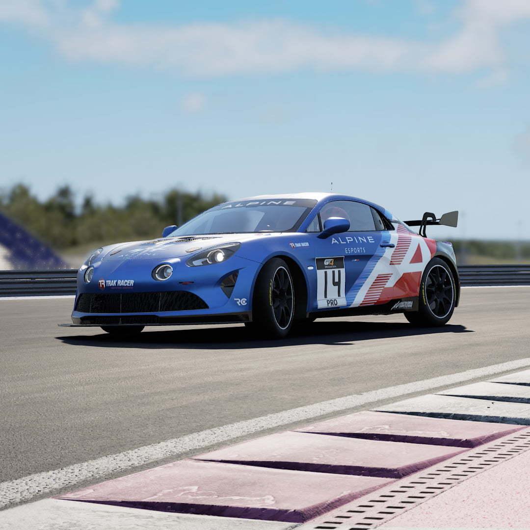 Alpine A110 GT4 Alpine esports series | Alpine Esports Series : lancement du championnat virtuel en Alpine A110 GT4