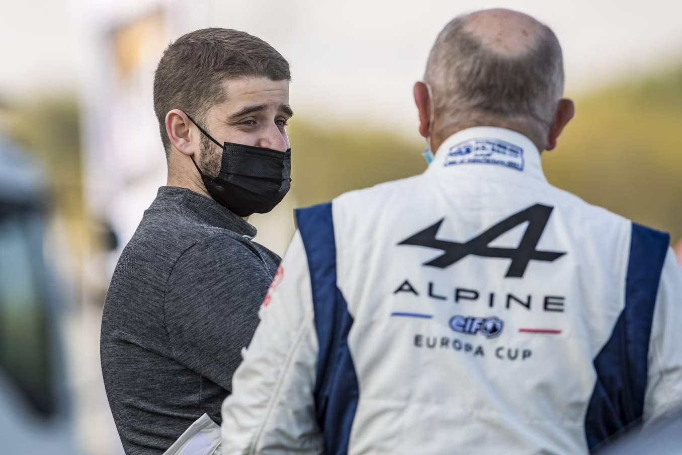 Alpine Elf Europa Cup 2021 A110 Nogaro