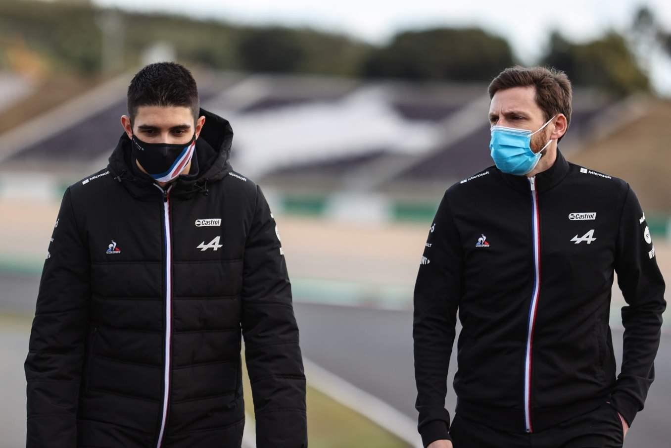 Alpine F1 Team alonso ocon Grand Prix Heineken du Portugal Formule 1 202114 scaled   Alpine F1 Team : Grand Prix Heineken du Portugal de Formule 1 2021