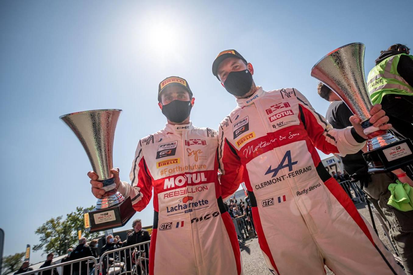 CMR Alpine A110 GT4 Prost Servol 3 | Alpine A110 GT4 : Victoire de Castelli et Wallgrenn pour les Coupes de Pâques à Nogaro