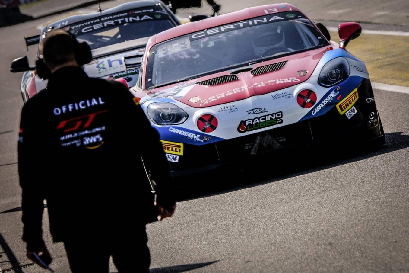 Mirage Racing Alpine A110 GT4 Castelli Wallgrenn