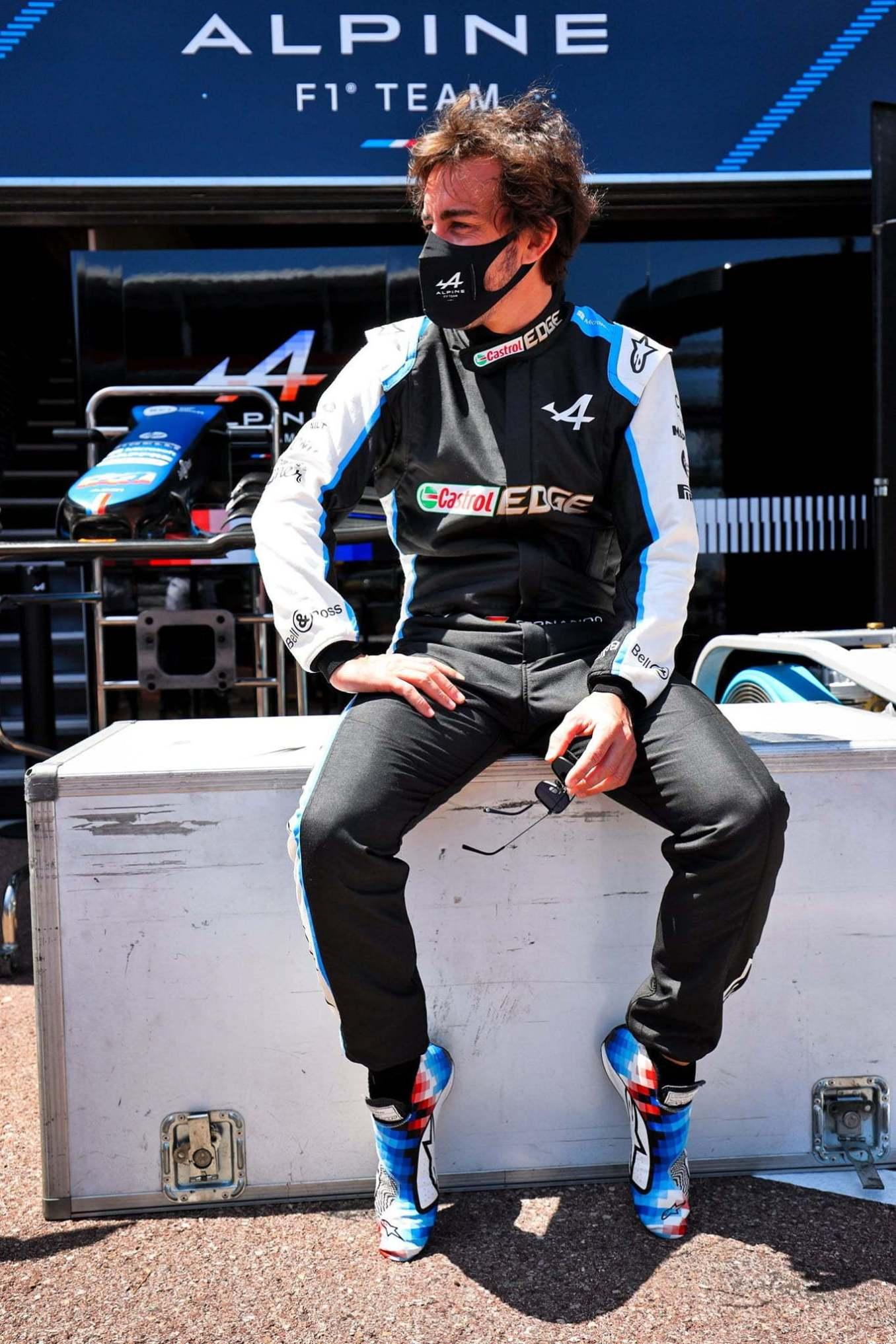 Alpine A110 x Felipe Pantone Monaco F1 Alonso