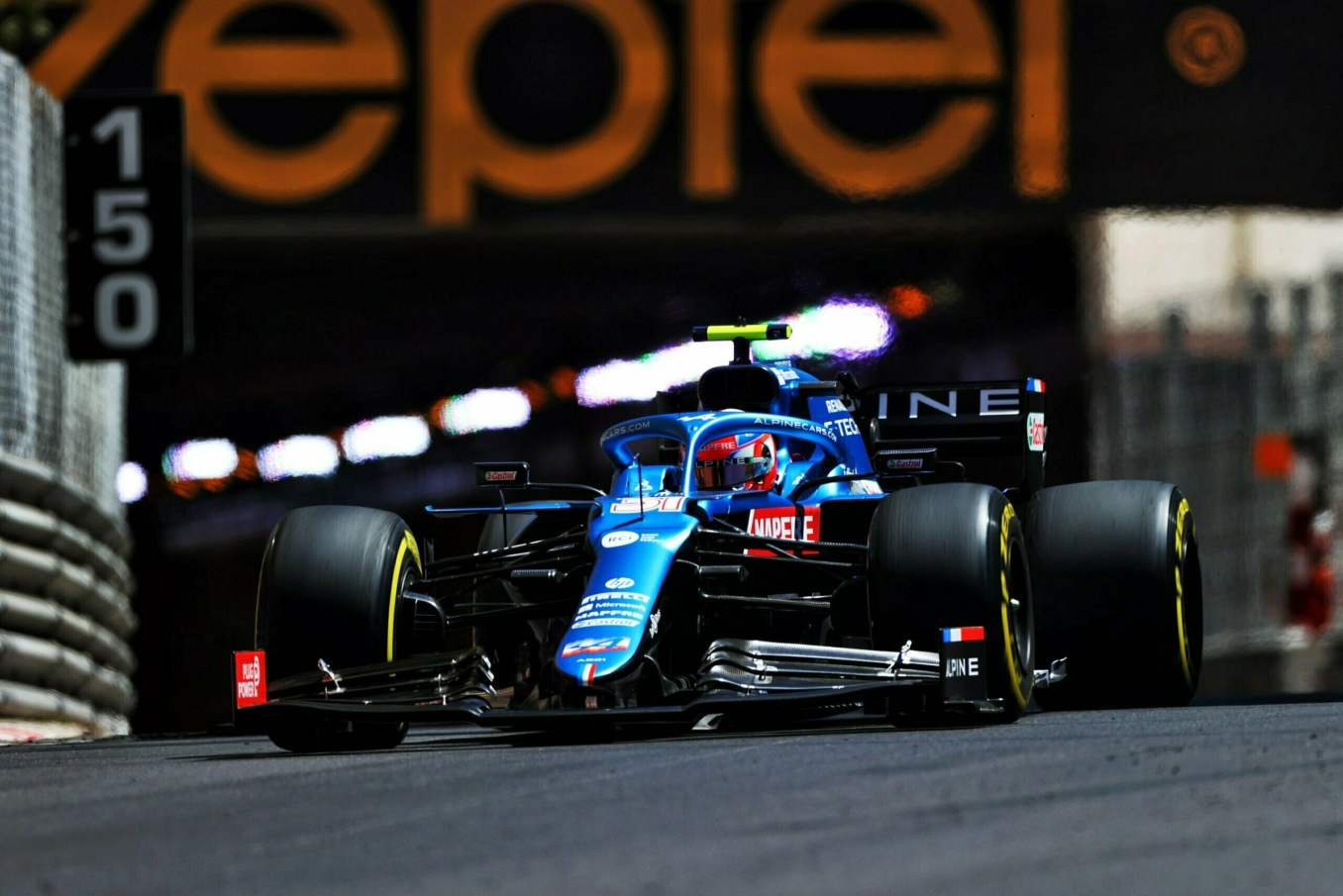Alpine F1 Qualifications A521 Monaco Alonso Ocon 2021 - 32