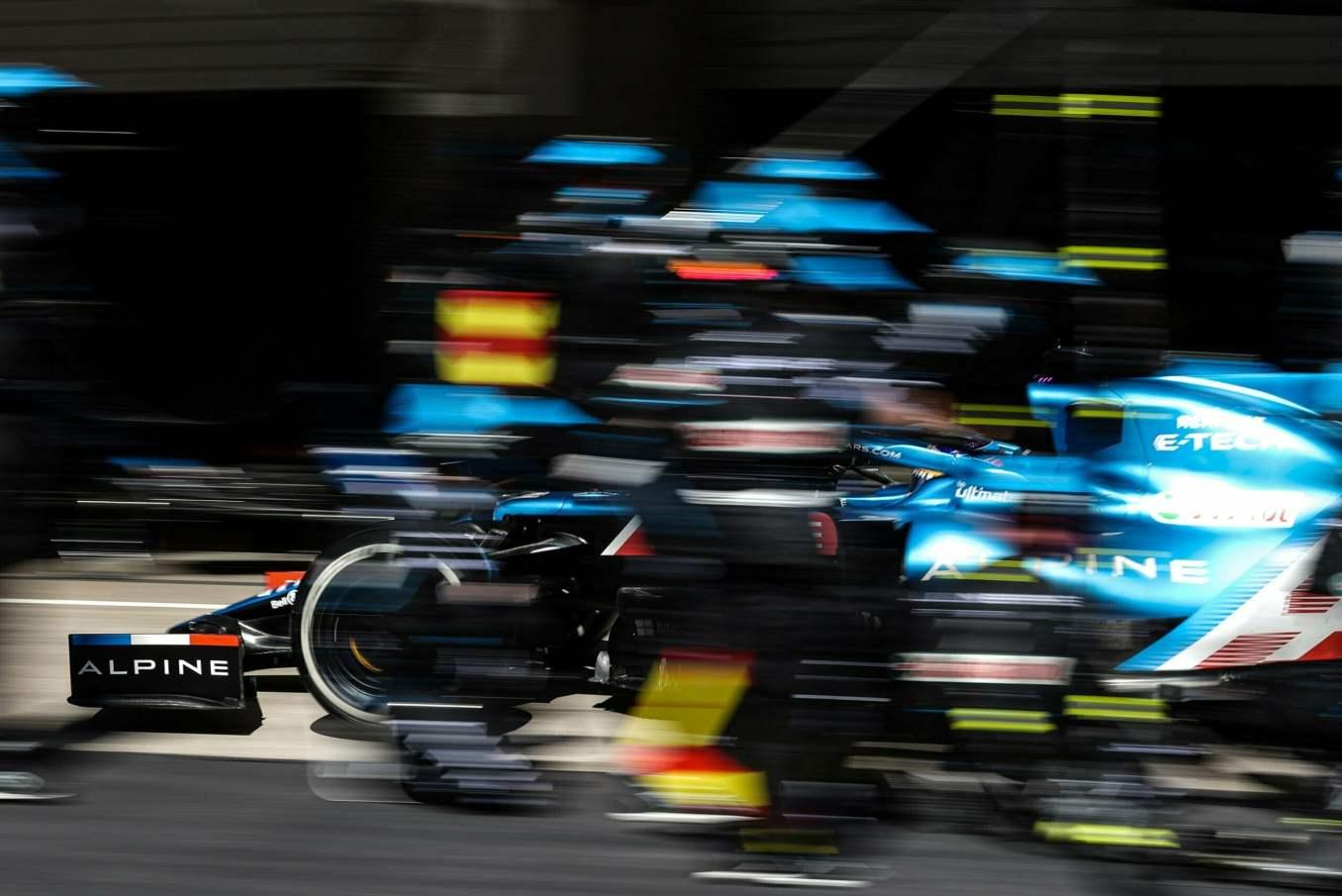 Alpine F1 Team A521 Alonso Ocon Grand Prix Portugal Course 33 scaled | Alpine F1 Team poursuivra sa progression au Grand Prix d'Espagne 2021