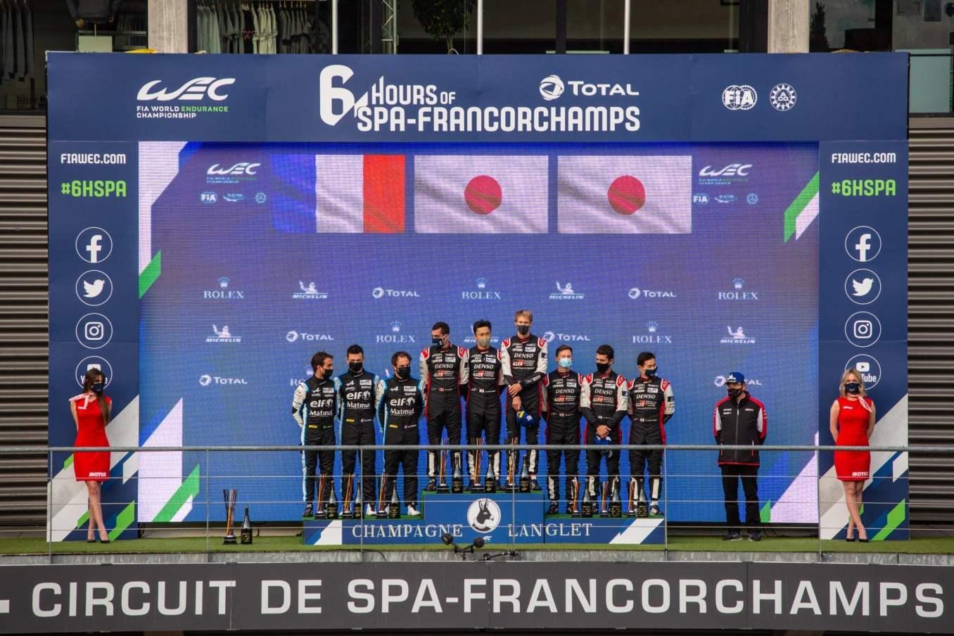Alpine endurance Team A480 Lapierre Negrao Vaxiviere Spa Francorchamps 10 scaled | Alpine Endurance Team rafle la 2ème place à Spa-Francorchamps en Hypercar