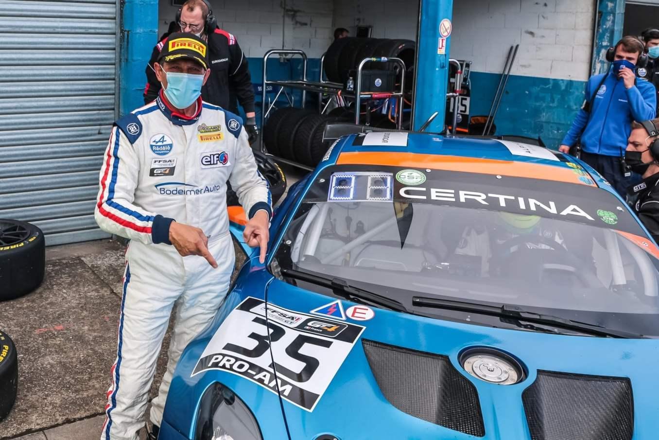 Alpine A110 GT4 FFSA GT Albi 2021 6   Alpine A110 GT4 : une domination sans équivalents à Albi !