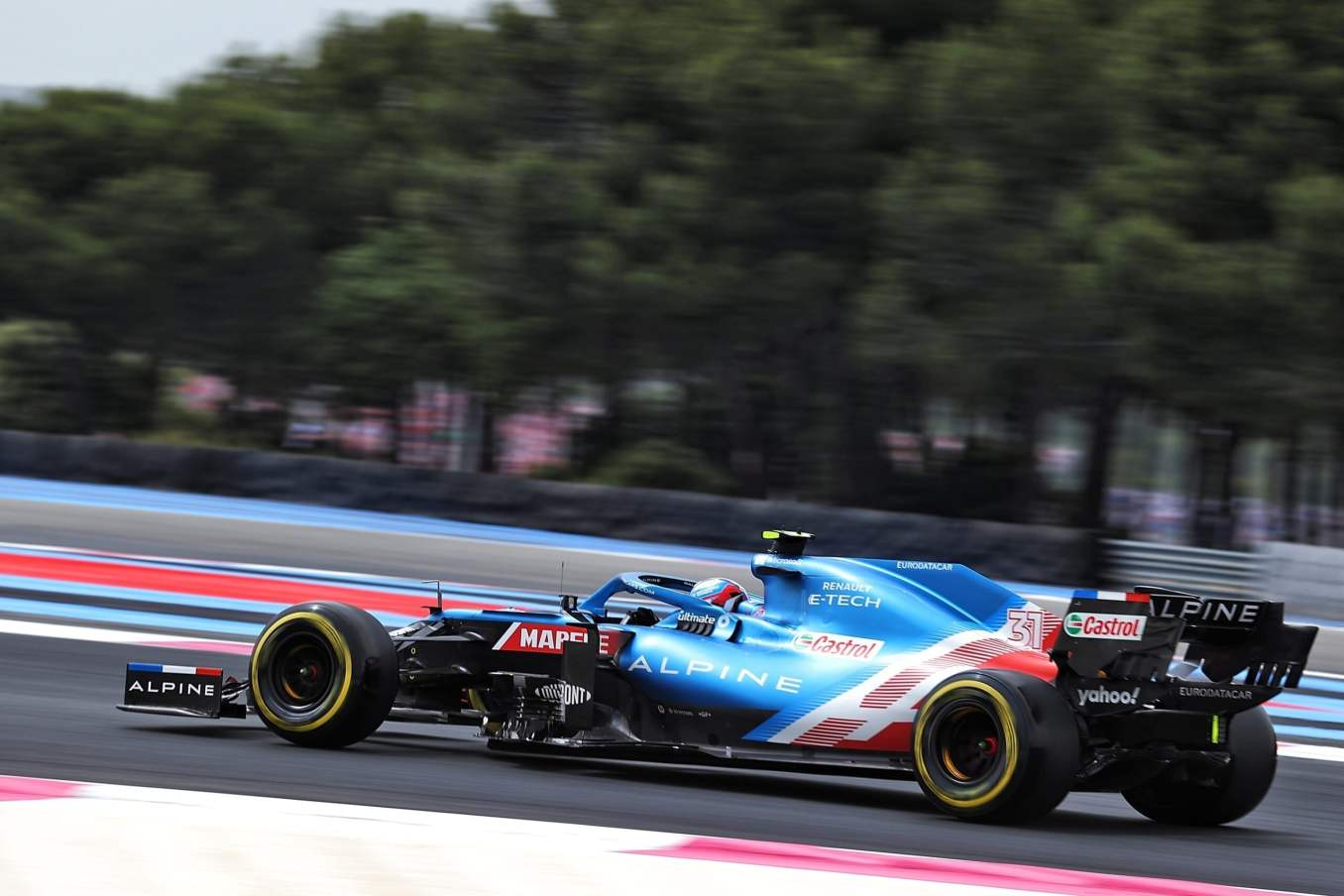 Alpine F1 Alonso Ocon A521 Castellet Paul Ricard 2021 (23)