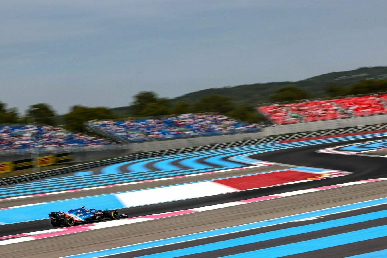 Alpine F1 Alonso Ocon A521 Castellet Paul Ricard 2021 7 scaled | Alpine F1 : des essais convaincants au Grand Prix Emirates de France