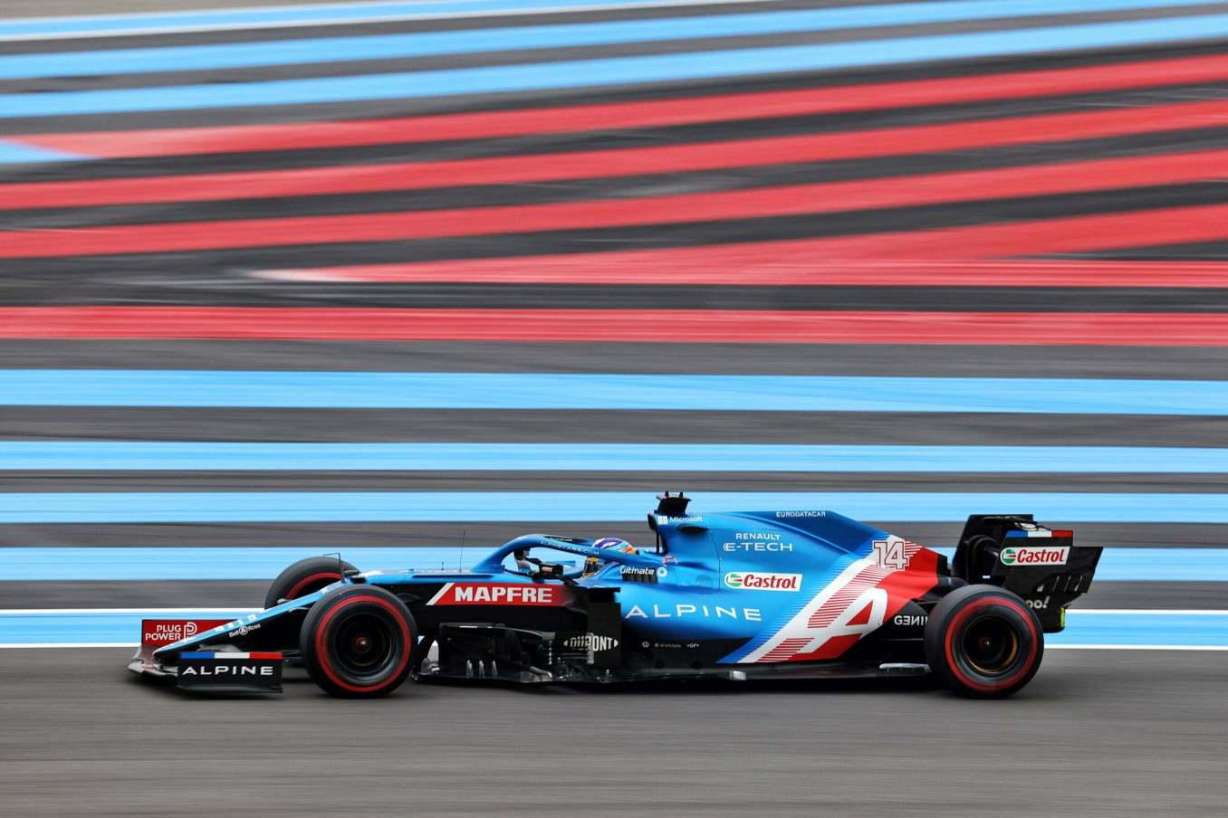 Alpine F1 Team A521 Alonso Ocon Castellet GP FRance 2021 2 scaled | Alpine F1 : Alonso entre en Q3, Ocon bloque en Q2 au Grand-Prix de France