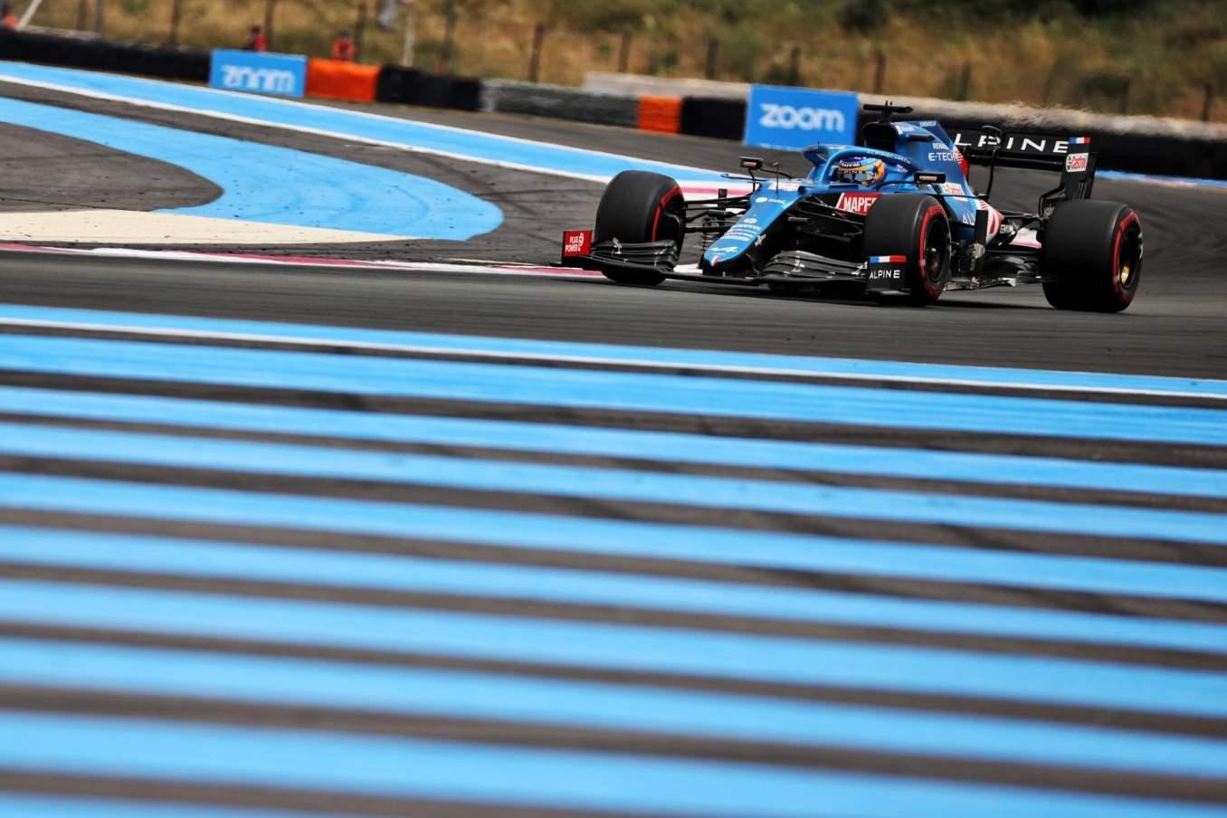 Alpine F1 Team A521 Alonso Ocon Castellet GP FRance 2021 6 scaled | Alpine F1 : Alonso entre en Q3, Ocon bloque en Q2 au Grand-Prix de France