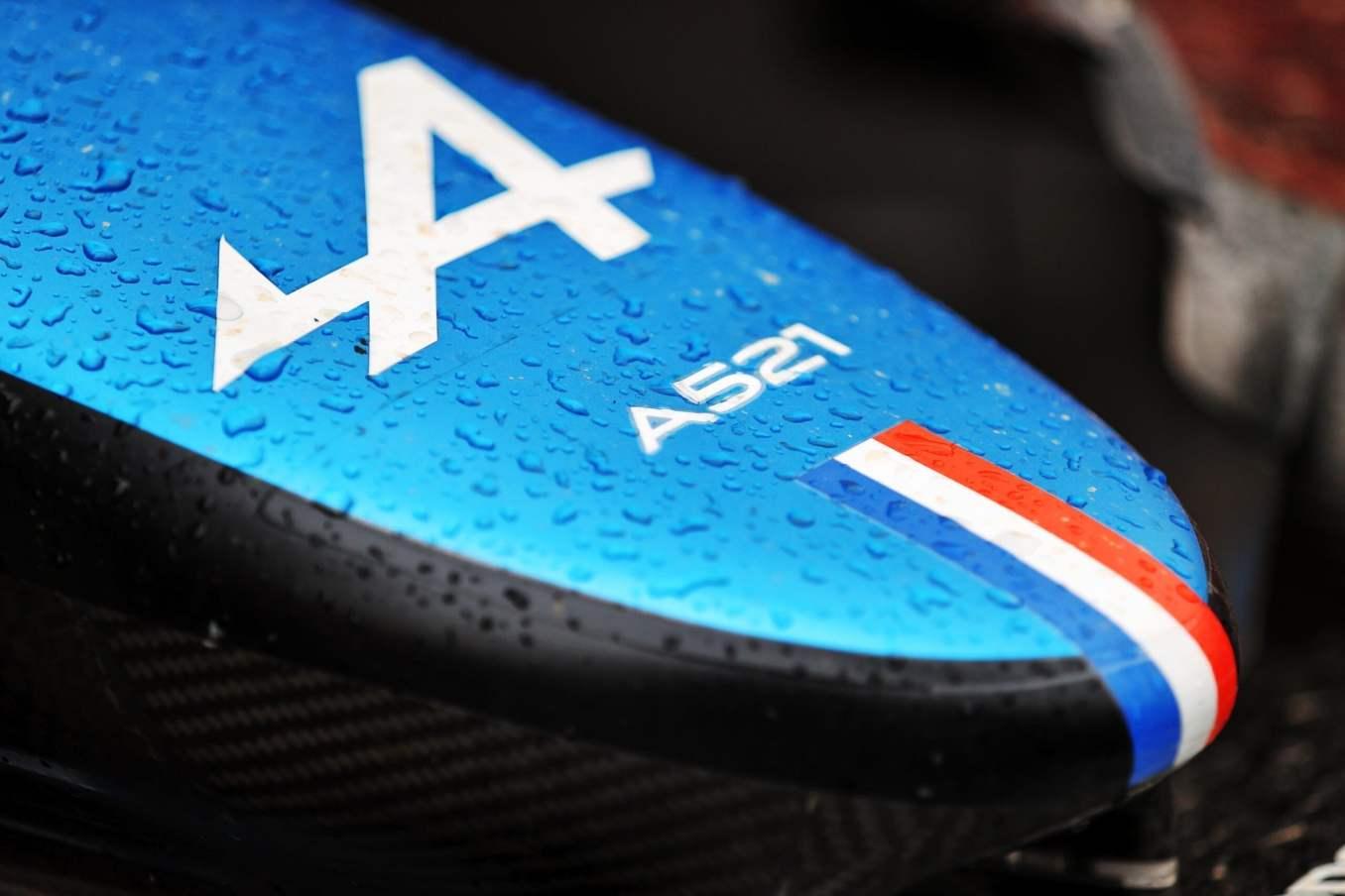 Alpine F1 Team A521 Grand Prix France Castellet 2021 Course