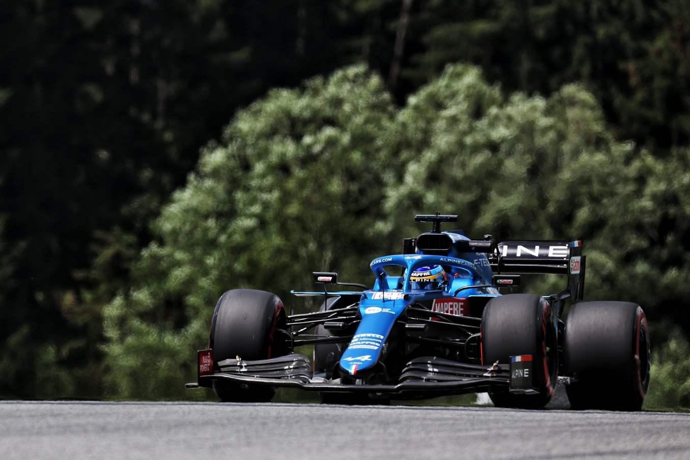 Alpine F1 Team Alonso Ocon Autriche Steiermark Grand Prix Spielberg A521 2021 30 scaled | Alpine F1 : Alonso réitère la Q3 et Ocon trébuche en Q1 à Spielberg