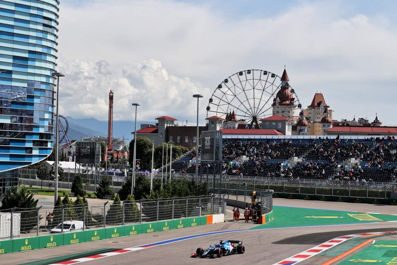 Alpine F1 Team P6 grand prix russie 27   P6 pour Alpine F1 Team et Alonso en Russie