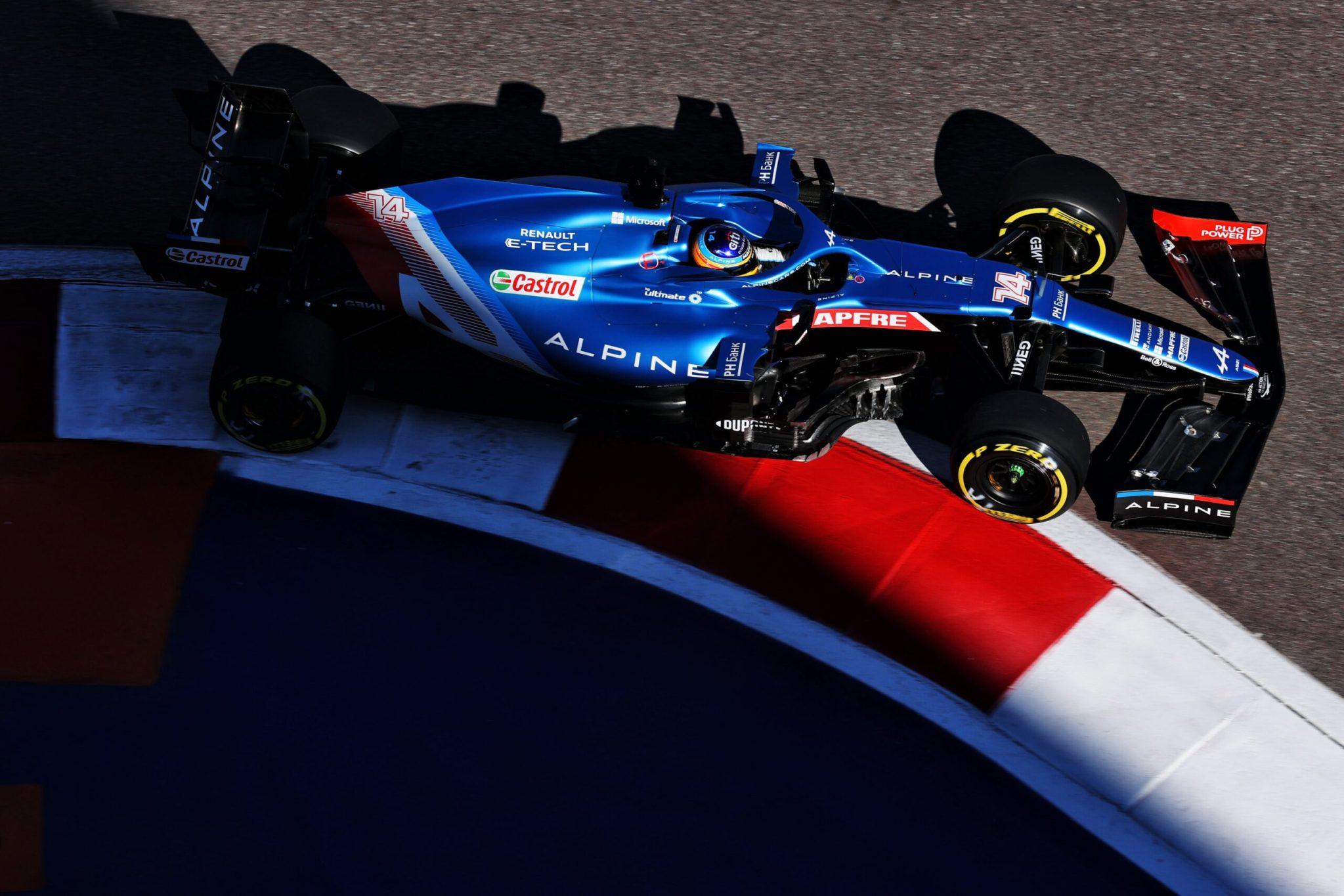 P6 pour Alpine F1 Team
