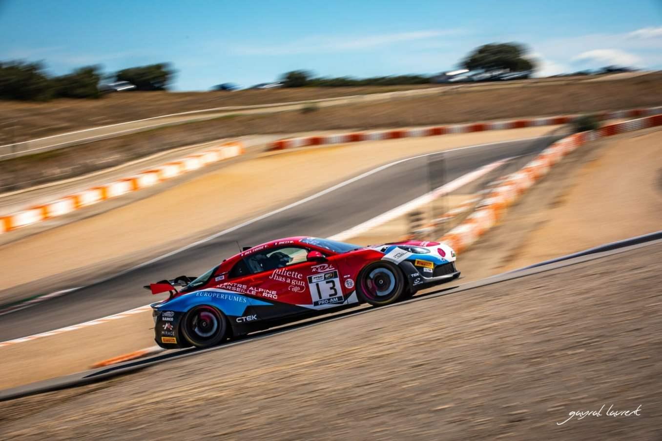 Alpine A110 GT4 / FFSA GT Lédenon