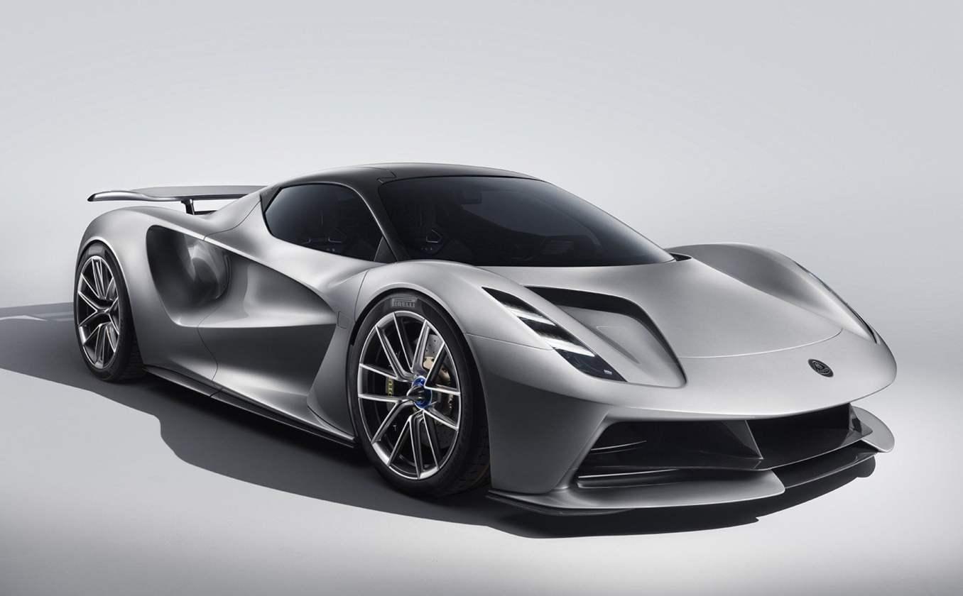 Lotus Evija Supercar électrique