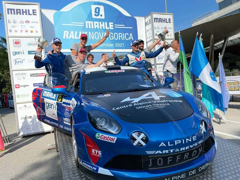 Victoire Manu Guigou Rally Nova Gorica Alpine A110 2021
