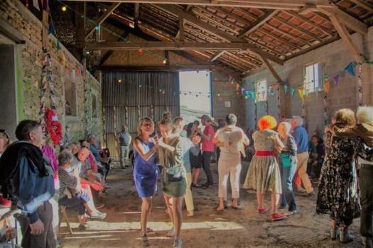 Thé dansant à La Grange de La Bréjolière