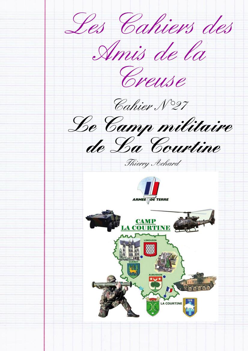 Camp Militaire De La Courtine : militaire, courtine, Creuse, Creusois, Paris, Cahier, Militaire, Courtine