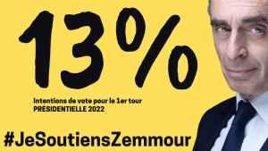 ZEMMOUR 13%