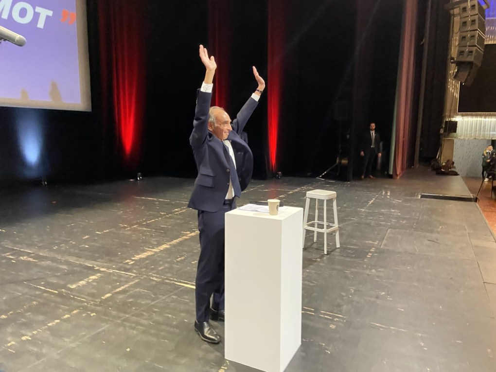 Zemmour Lille